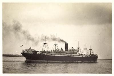 Foto Clan Line, Clan Urquhart, Steamer En Route