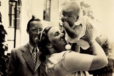 Prinzessin Juliana, Prinz Bernhard, Baby,Niederlande