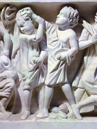 Relief Depicting Fight Between Children