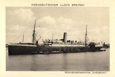 Norddeutscher Lloyd Bremen, Dampfer Gneisenau