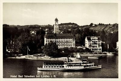 Schachen Lindau Bodensee, Dampfer Stadt Oberlingen