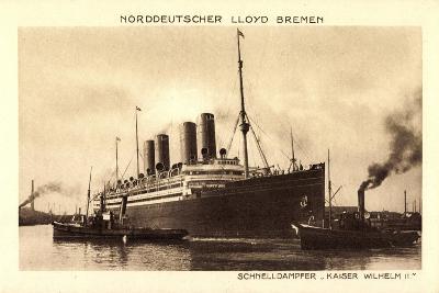 Norddeutscher Lloyd Bremen, Dampfer Kaiser Wilhelm II