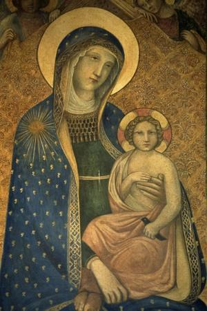 Madonna with Child, Temple of St Michael Archangel, Perugia, Umbria, Italy
