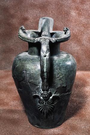 Bronze Jug, from Necropolis of Campovalano Di Campli, Abruzzo, Italy
