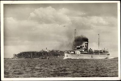 Helgoland, Hapag, Seebäderdienst, Dampfer Cobra