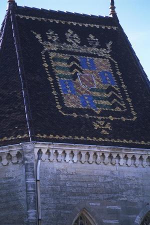 France, Languedoc-Roussillon, Uzès, Duchy of Uzès, 11th-12th Centuries, Coat of Arms on Roof