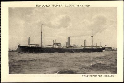 Norddeutscher Lloyd Bremen, Dampfer Elsass