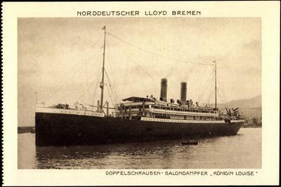 Norddeutscher Lloyd Bremen, Dampfer Königin Louise