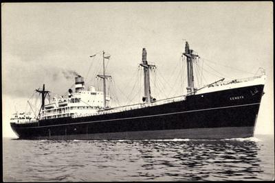Dampfer S.S. Eemdyk, Holland America Line