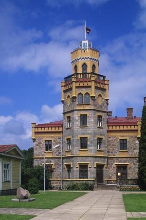 Latvia, Vidzeme Region, Sigulda, New Castle