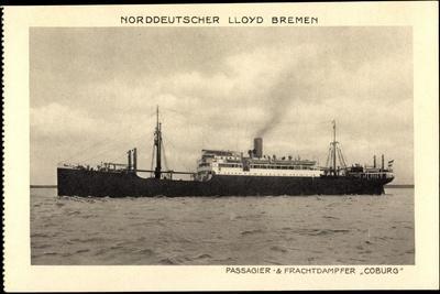 Norddeutscher Lloyd Bremen, Dampfer Coburg