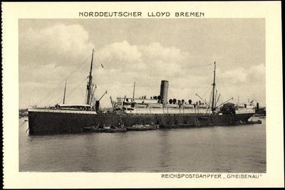 Norddeutscher Lloyd Bremen, Dampfschiff Gneisenau