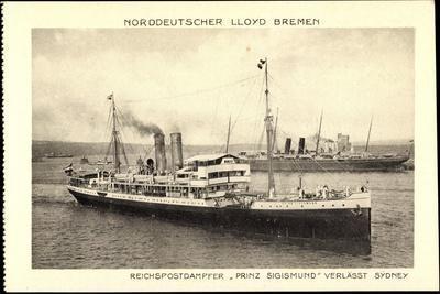 Norddeutscher Lloyd Bremen, Dampfer Prinz Sigismund