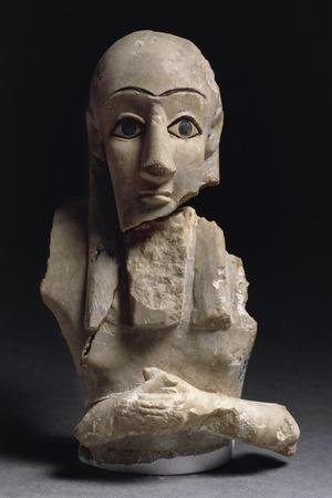 Male Bust from Tell Agrab, Iraq