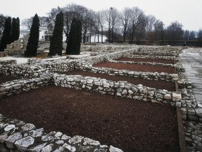 Roman Ruins at Aquinco, Budapest, Hungary