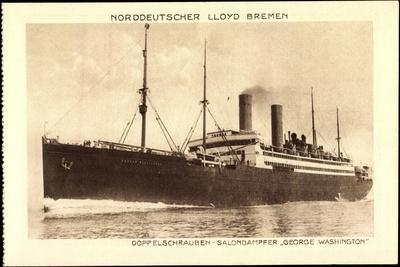 Norddeutscher Lloyd Bremen, Dampfer George Washington