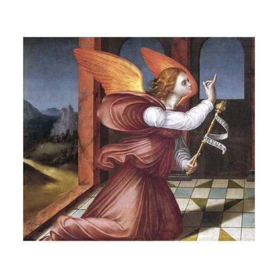 The Archangel Gabriel, Detail from the Annunciation