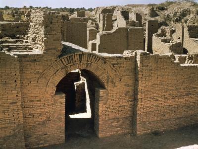 Ruins of City of Babylon, Al Hillah, Province of Babylon, Iraq, 7th-6th Century BC