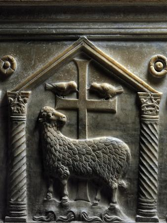 Lamb of God, Relief Detail