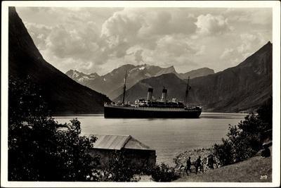 Hardangerfjord, HSDG, Dampfschiff Monte Olivia