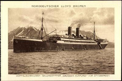 Norddeutscher Lloyd Bremen, Dampfer Großer Kurfürst