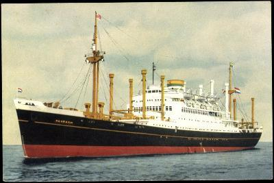 Hapag, Totalansicht Vom Dampfschiff M.V. Noordam