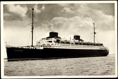 Norddeutscher Lloyd Bremen, Dampfschiff Europa