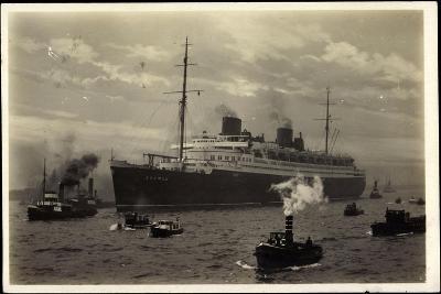 Dampfer Bremen, Norddeutscher Lloyd Bremen, Lotsen