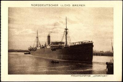Norddeutscher Lloyd Bremen, Dampfer Lothringen