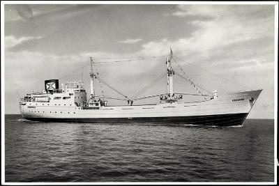 Foto Dampfschiff Venimos Auf Offener See in Fahrt