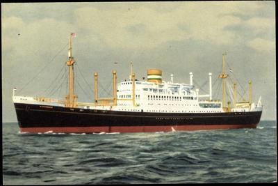 Hapag, M.V. Westerdam, Dampfschiff Auf Hoher See