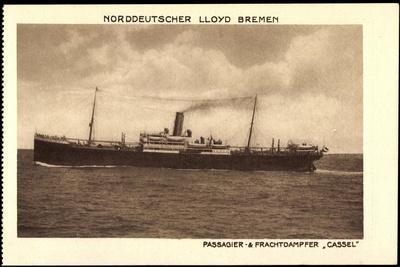 Norddeutscher Lloyd Bremen, Dampfer Cassel