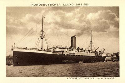 Norddeutscher Lloyd Bremen, Dampfer Derfflinger
