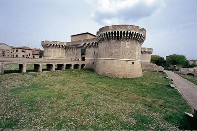 Italy, Marche Region, Senigallia, Rocca Roveresca Fortress