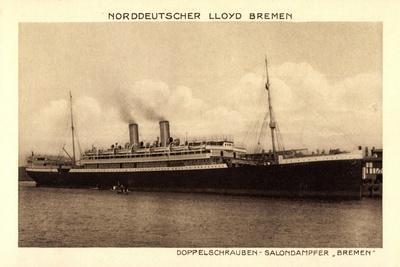Norddeutscher Lloyd Bremen, Dampfer Bremen