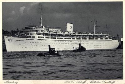 Hamburg, Kdf Schiff, Wilhelm Gustloff, Dampfer