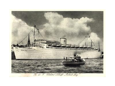 K.D.F. Elektro Schiff Robert Ley, Dampfschiff