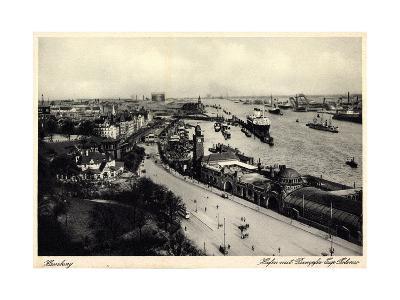 Hamburger Hafen, Dampfer Cap Polonio, Hsdg
