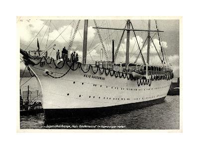 Hamburger Hafen, Segelschiff, Hein Godenwind