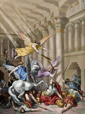 Heliodorus Expulsed of the Temple of Jerusalem by Heavenly Messengers