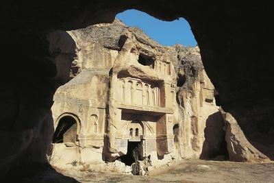 Open Palace or Acik Saray, Near Gulsehir, Cappadocia, Turkey
