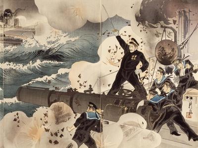 Naval Battle of Port Arthur, March 10, 1904, the Japanese Navy's Artillery, Detail