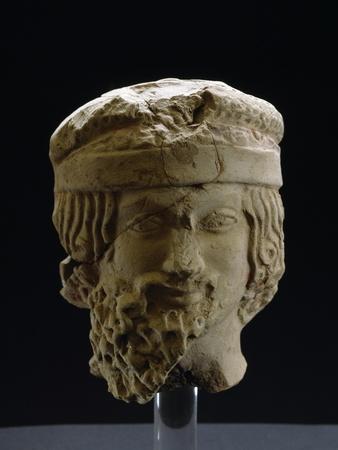 Male Head, 5th Century BC