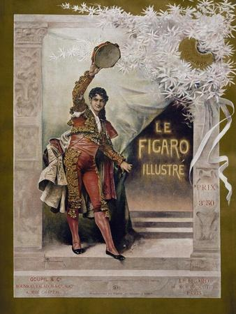 Cover Inspired by Georges Bizet's Carmen, Figaro Illustree