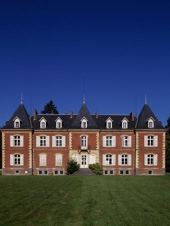 Main Facade of Chateau De Nouvion-En-Thierache, Picardy, France