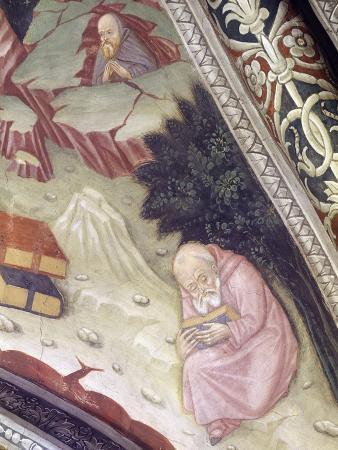 Italy, Piedmont Region, Alessandria Province in Chapel at Basilica of Santa Maria Assunta