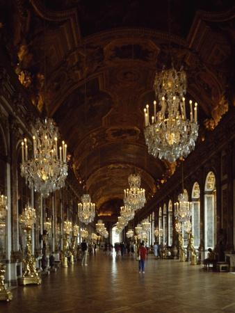 Hall of Mirrors, Palace of Versailles , France