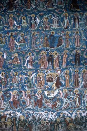 Frescoes from Moldovita Monastery, 1532, Romania, 16th Century