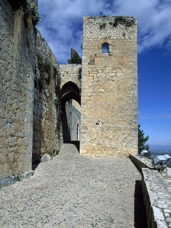 View of Saint Catalina's Castle, Jaen, Andalusia, Spain, 13th-14th Century