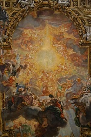 Nave Ceiling Painting